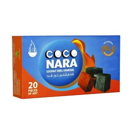 NARA CHARCOAL SMALL-20 PIECES